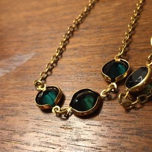 J. Crew Jewelry - J. Crew green necklace